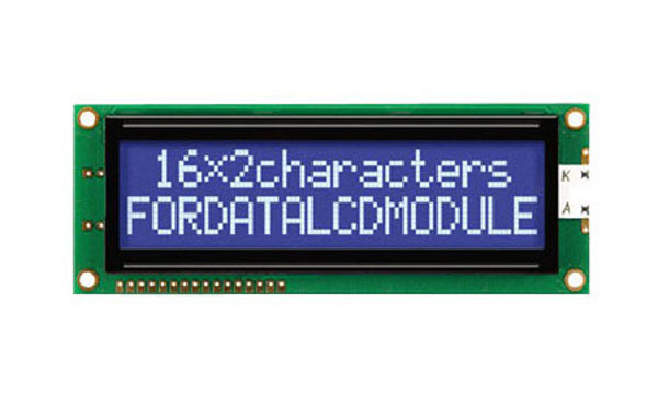 LCD character displays